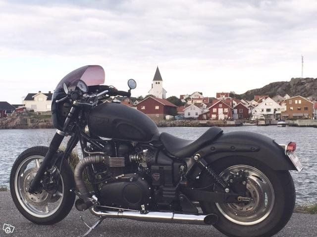 Triumph Speedmaster ombyggd   Göteborg