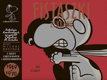 """Charles M. Schulz, """"Fistaszki zebrane: 1969-1970"""", przeł. Michał Rusinek, Nasza Księgarnia, Warszawa 2014. 325 stron"""