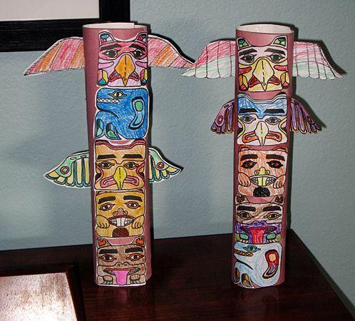 Totem Pole Art Project