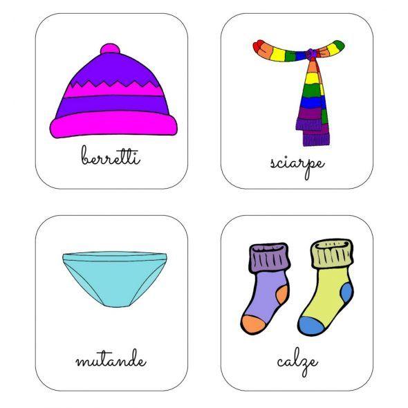 Etichette per armadi bambini (PDF da scaricare gratis)