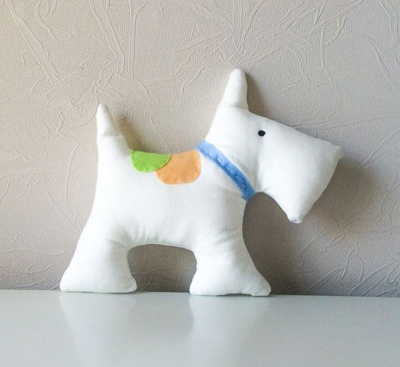 Free shipping Scottish Terrier toy stuffed dog by BeTheOriginal
