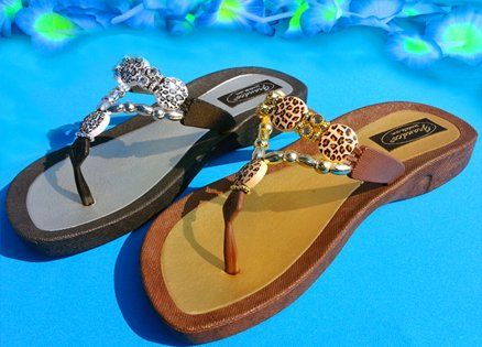 Leopard Thong | Luv your Sandals