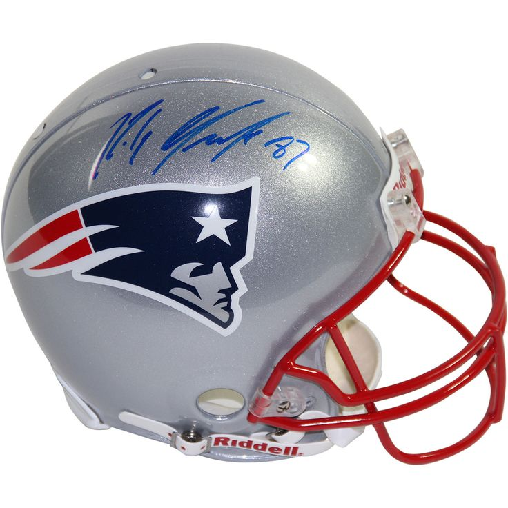 Rob Gronkowski Signed Patriots Proline Authentic Current Helmet (New England Picture Auth) - Football star Rob Gronkowski has personally hand.100% Guaranteed AuthenticNew England Picture AuthenticatedPerfect Collectors Item. Gifts > Licensed Gifts > Nfl > New England Patriots. Weight: 1.00