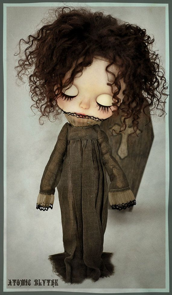 Atomic Blythe Wraith Dress in Charcoal