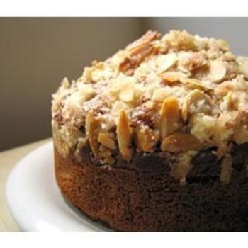 Almond Rhubarb Coffee Cake
