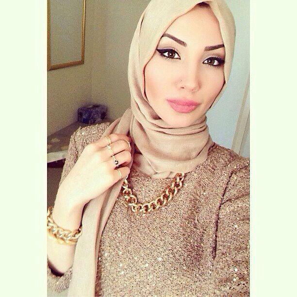 Nude Hijab