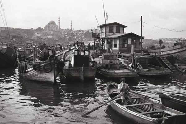Ara Güler - 1956- Haliç