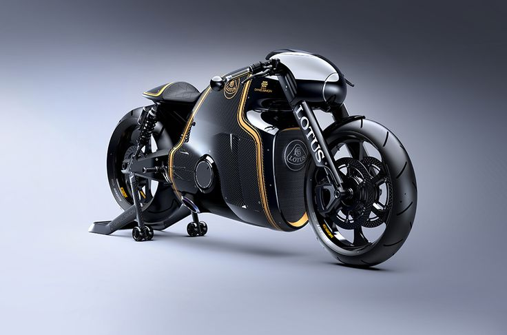 Kodewa licensed the Lotus brand for its motorcycle. Designed by Daniel Simon – the man behind the TRON: Legacy light cycle – the eye candy drag bike has a 200hp 1.2L V-twin engine and a steel, titanium and carbon fiber chassis. - See more at: http://theawesomer.com/lotus-c-01/270355/#sthash.bksYt0ui.dpuf