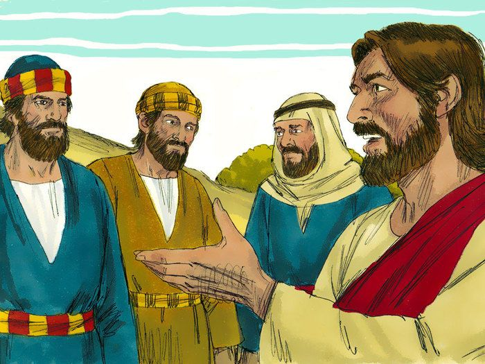 Peter James And John Witness Jesus Being Transfigured