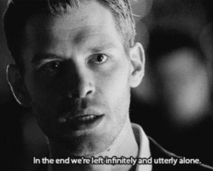 Vampire Diaries Love Quotes Klaus 438 best TVD QU...