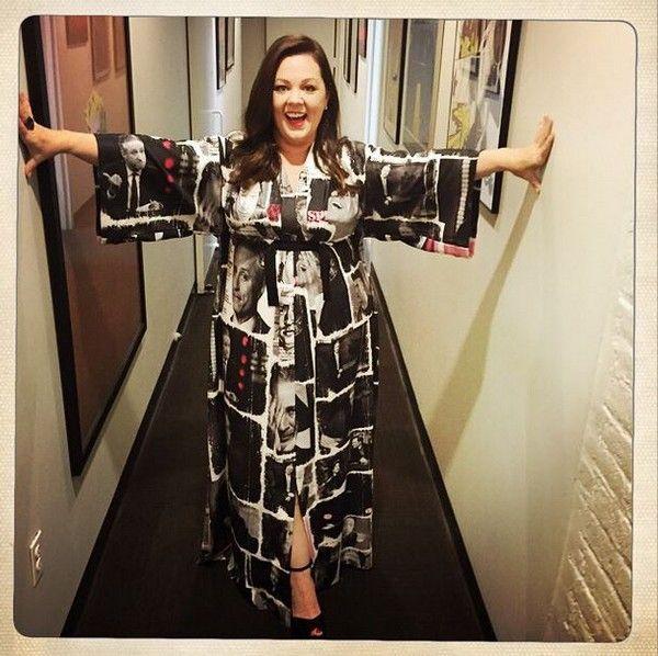 melissa mccarthy jon stewart dress