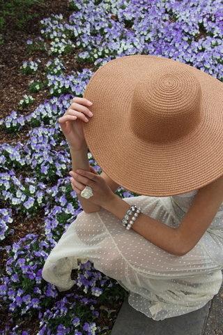 .: Maxi Dresses, Summer Hats, Summer Day, Hats Fashion, Jcrew Straws Hats, Sunhat, Summer Floppy Hats, Lace Dresses, Sun Hats