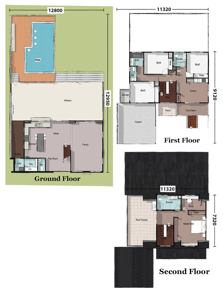 26 best sloping lot house floorplans images on pinterest house blue gum sloping lot house plan home designs building prices builders malvernweather Images