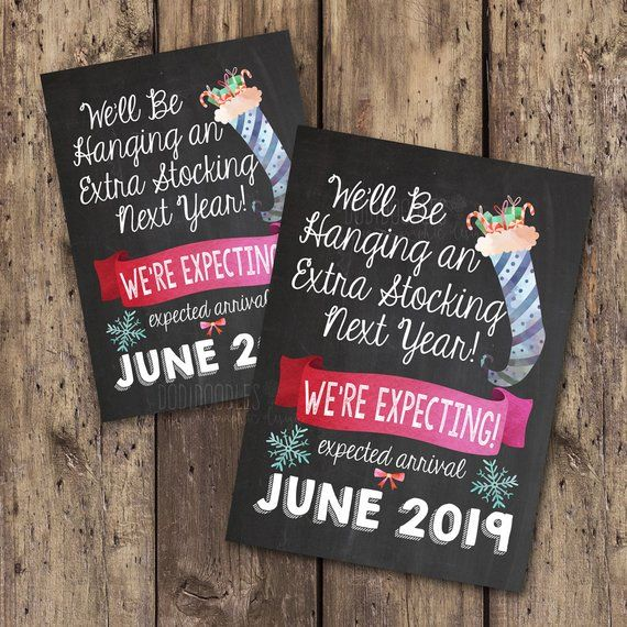 May 2021 Only christmas sign we/'ll be hanging an extra stocking next year may baby christmas pregnancy announcement pregnancy reveal