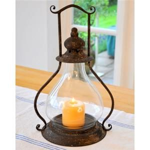 Adobe Small Prague Garden Lantern