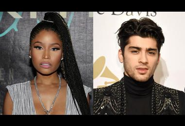 Wait, Are Zayn Malik And Nicki Minaj About To Hit Us In The Face With A Collaboration? | MTV UK