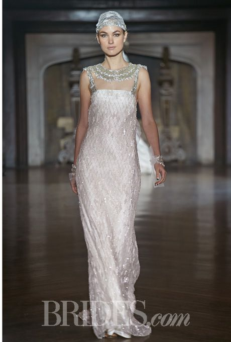 Johanna Johnson Wedding Dresses Fall 2014 Bridal Runway Shows   Wedding Dresses Style   Brides.com