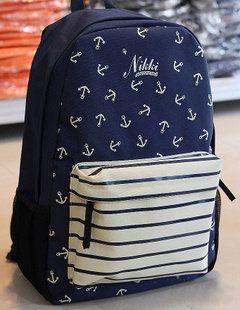 Blue Anchor Backpack