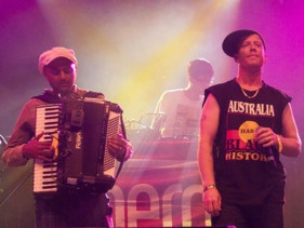 Review: The Herd at 'Peats Ridge 2012'  The Herd fronted by Urthboy and Ozi Batla