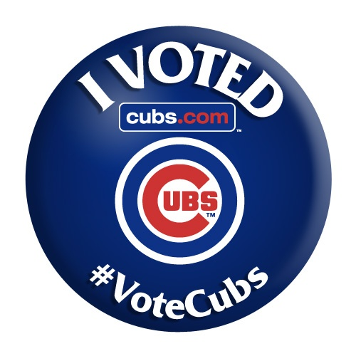 #VoteCubs for the 2015 All-Star Game!