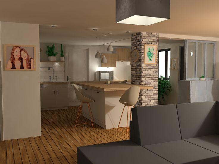 Modelisation 3d D Un Projet De Renovation D Une Villa Pres De Nimes Villa Modelisation 3d Modelisation