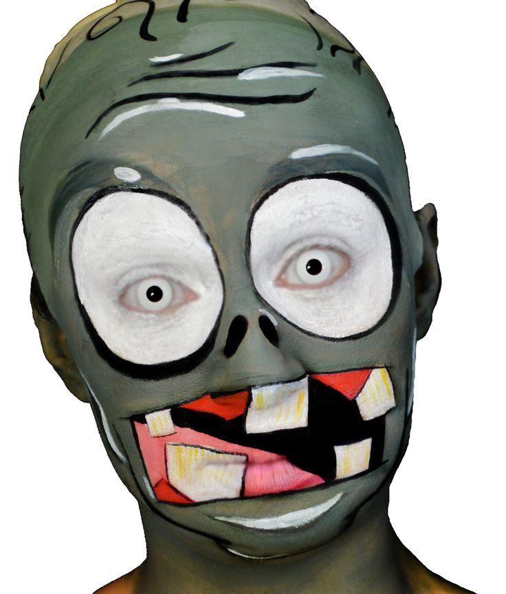 ZOMBIE - Plantas contra zombies / Plants vs Zombies Makeup  FOLLOW ME ON YOUTUBE! ♥ VFashionland