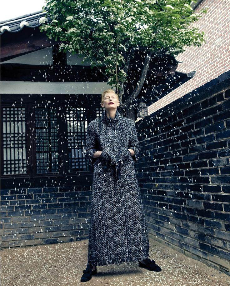 Tilda Swinton Vogue Korea