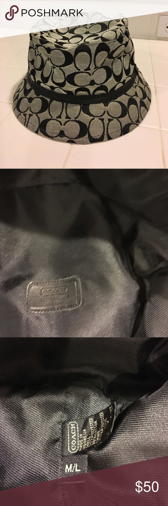 Coach hat Coach hat. Used but in Great condition Coach Accessories Hats