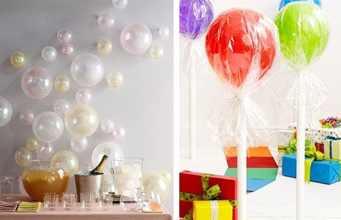 Original ballon-decoration ideas