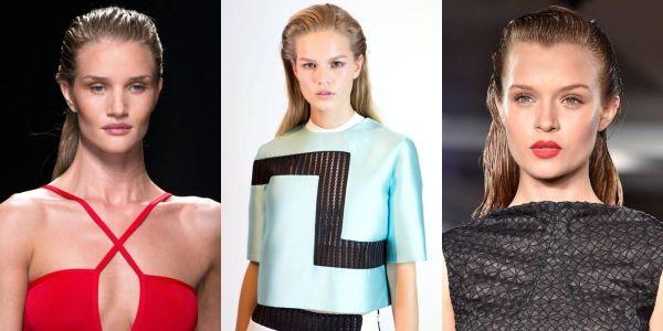 2015 ilkbahar/yaz saç modelleri – Islak görünümlü saçlar