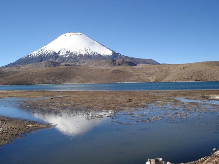 Lago Chungara, Chile.