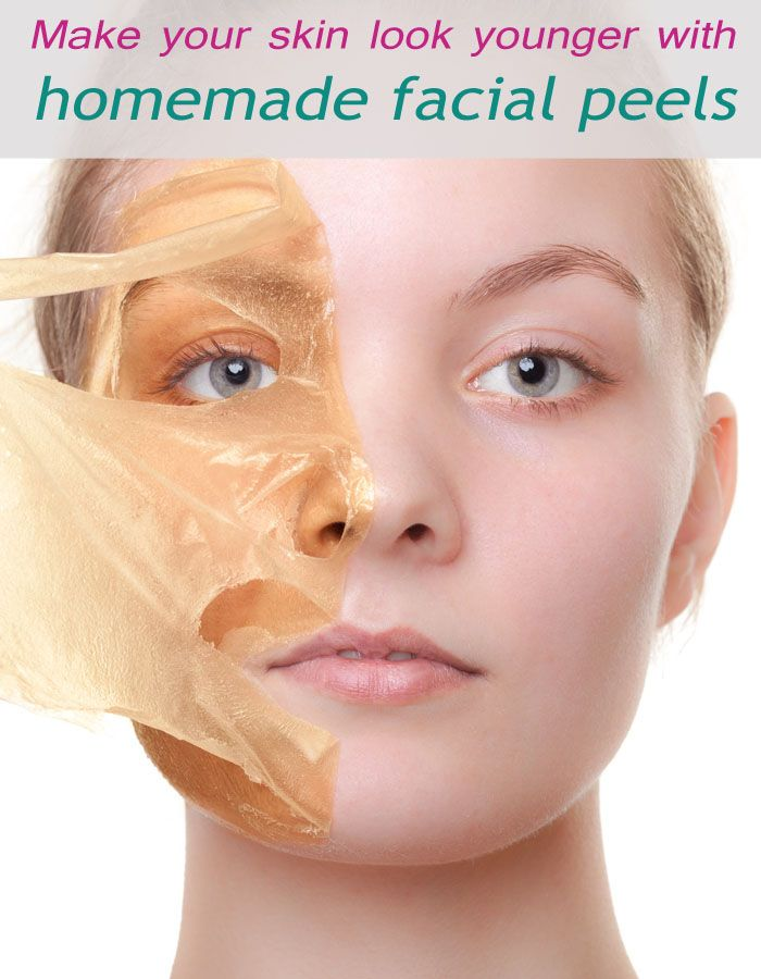 Make Your Skin Look Younger With Homemade Facial Peels #AntiAging http://ncnskincare.com/