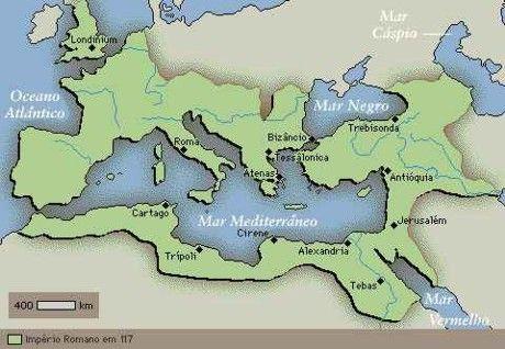 Mapa do Império Romano - História do Mapa do Império Romano - História do mundo