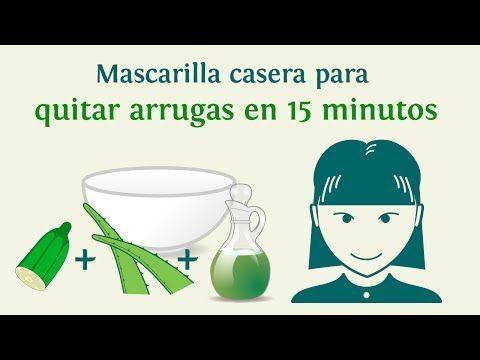 Mascarilla casera para quitar arrugas en 15 minutos - INNATIA.COM - YouTube