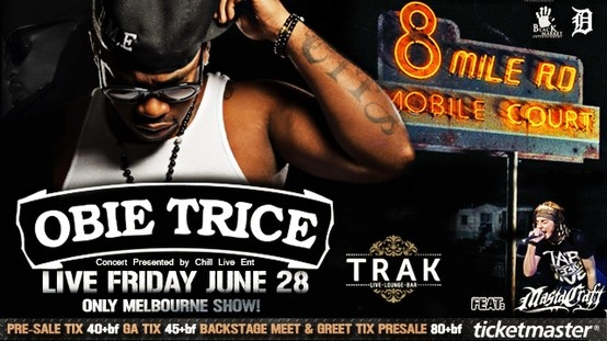 Obie Trice - Friday 28th June, 2013