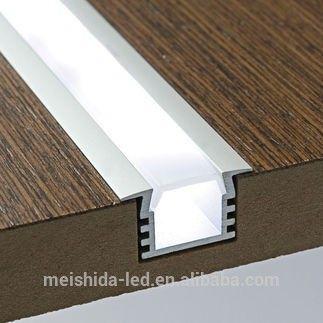 Led perfil de aluminio / yeso empotrada de extrusión / luz de tira dura