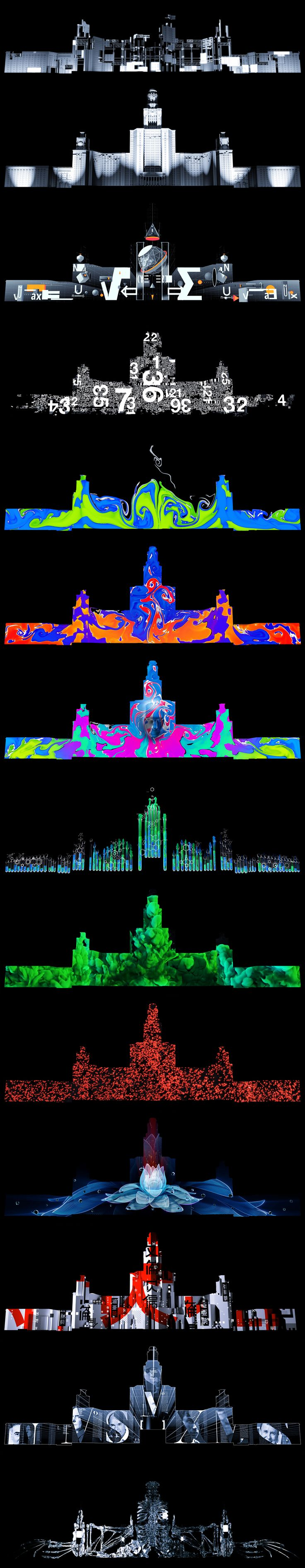 Art of Science (projection show) on Behance