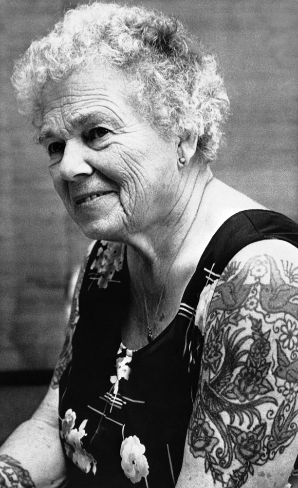 According to a 2012 Harris poll, 11 percent of those 50 to 64 years old and 5 percent of those 65 and older have tattoos.