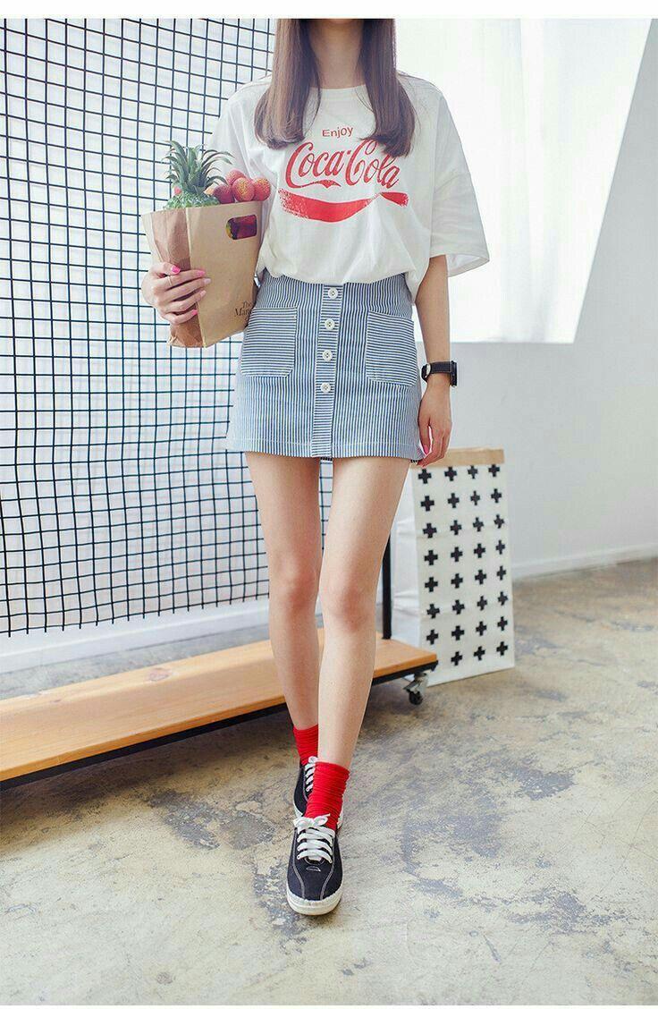korean fashion style - 736×1128