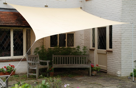 sail shade for the patio