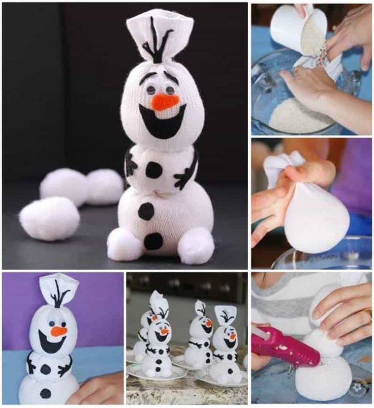 How cute is this adorable Sock Snowman and we have lots of cute versions for you to try including Olaf! Check out the Video Tutorial too.