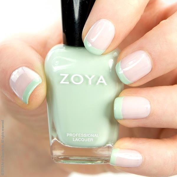 Zoya Laurie base with Neely tips