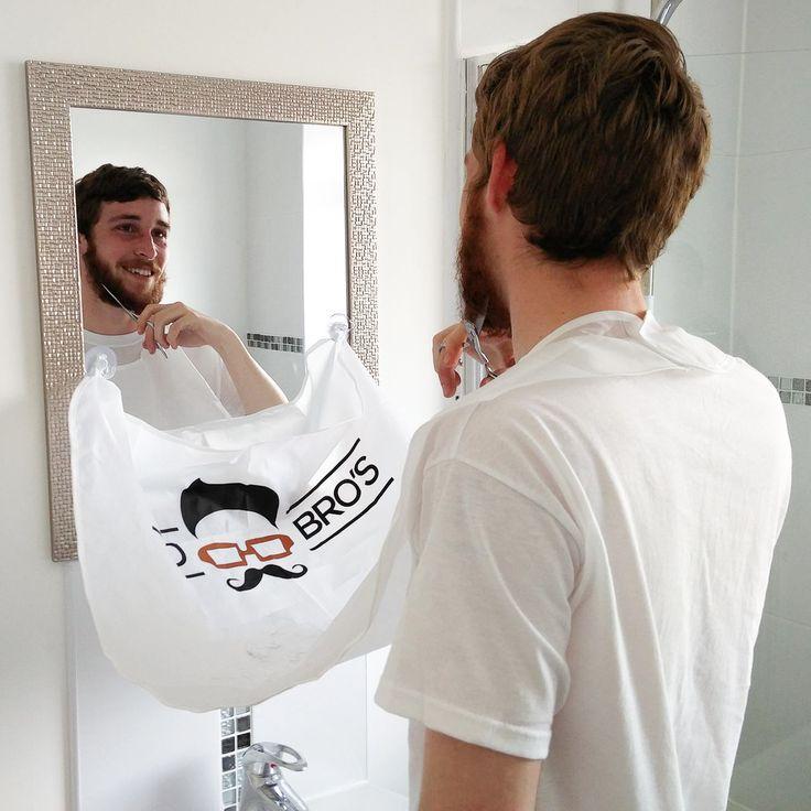 Mo Bro's Beard Bib - Shaving And Grooming Hair Catcher