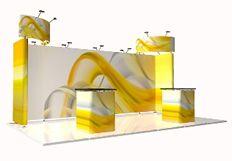 TRIGA Expo stand Display