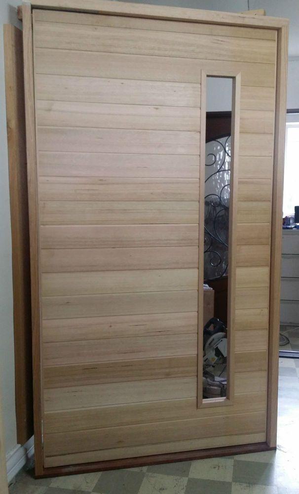 Timber Pivot Door Frame