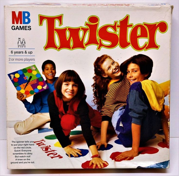 MB GAMES TWISTER VINTAGE 1996 GAME PARTY FAMILY FUN RETRO MAT SPIN BOARD GAMES