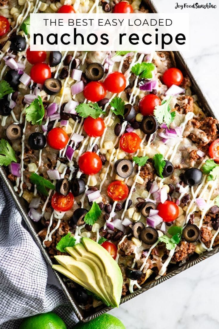 Best Beef Nachos Recipe In 2020 Healthy Snacks Recipes Nachos Recipe Nachos Recipe Beef