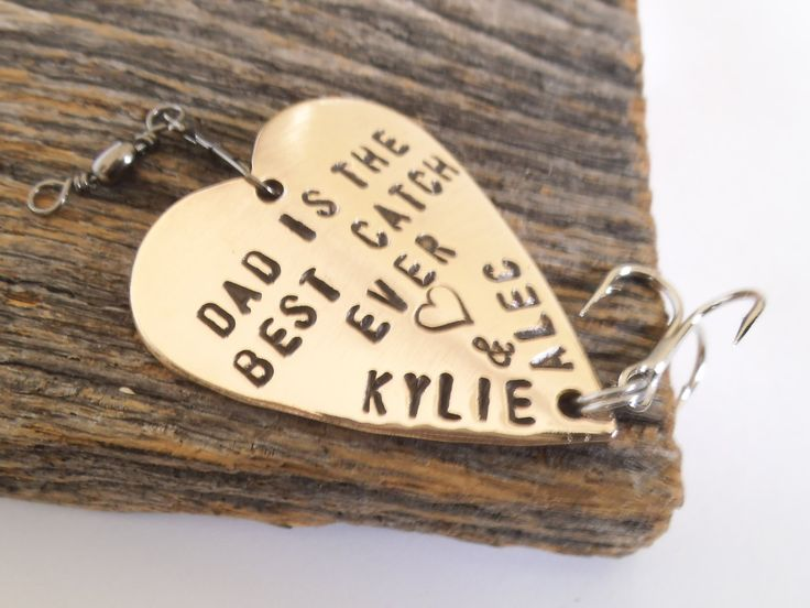 Christmas Gift For Dad Personalized Fishing Lure 1st Husband Him Birthday