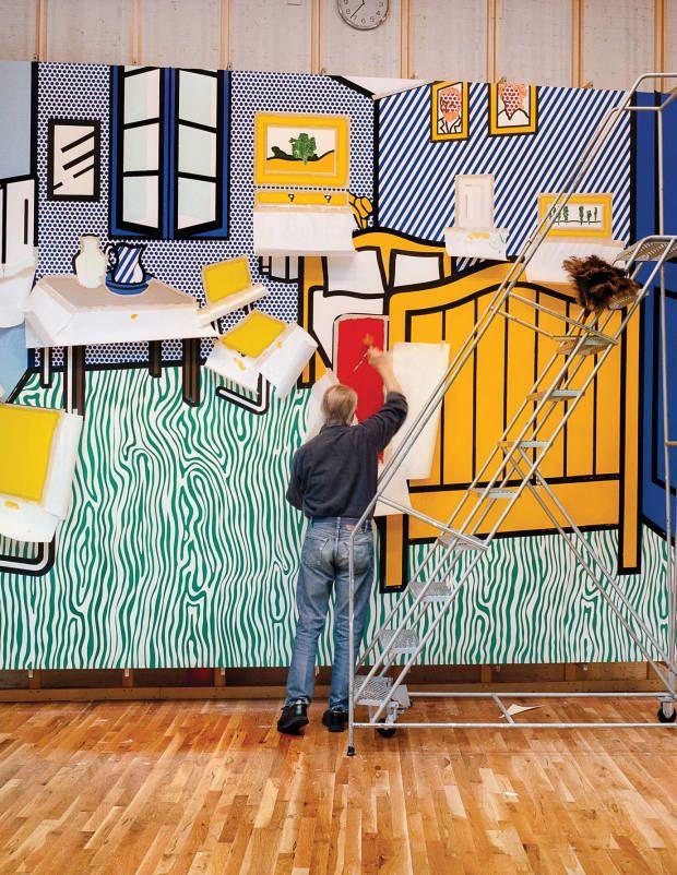 17 b sta id er om roy lichtenstein p pinterest art pop och andy warhol. Black Bedroom Furniture Sets. Home Design Ideas