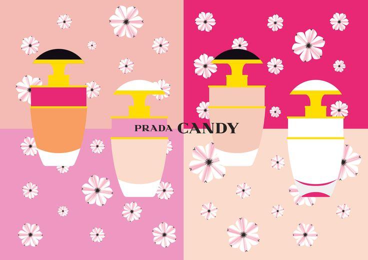 Prada Candy Mini Cosmos Campaign